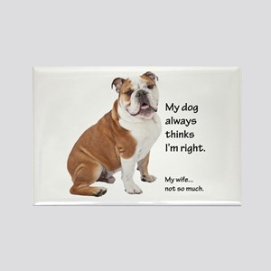 Bulldog v Wife Magnets